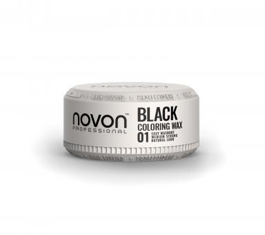 Novon Professional Coloring Wax - 01 BLACK - 100ml